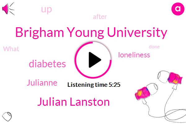 Brigham Young University,Julian Lanston,Diabetes,Julianne