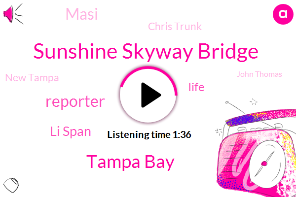 Sunshine Skyway Bridge,Tampa Bay,Reporter,Li Span,Iife,Masi,Chris Trunk,New Tampa,John Thomas,St Petersburg
