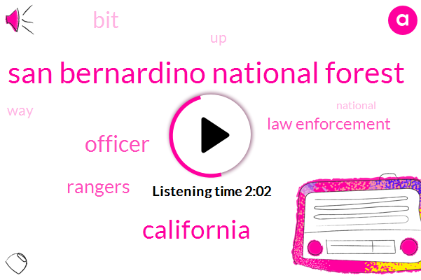 San Bernardino National Forest,California,Officer,Rangers,Law Enforcement