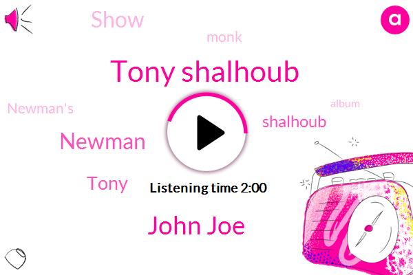 Tony Shalhoub,John Joe,Newman