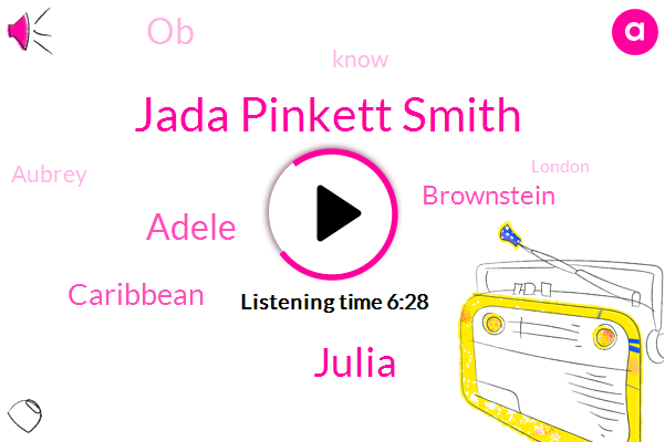 Jada Pinkett Smith,Julia,Adele,Caribbean,Brownstein,OB,Aubrey,London,Adel,Cellino