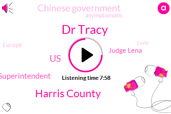 Dr Tracy,Harris County,United States,H. Isd Acting Superintendent,Judge Lena,Chinese Government,Houston,Asymptomatic,Europe,Covid,White House,Ut Health School Of Public,Hidalgo