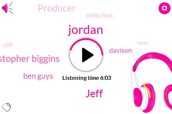 Jordan,Jeff,Christopher Biggins,Ben Guys,Davison,Producer,Eddie Foot,Cliff