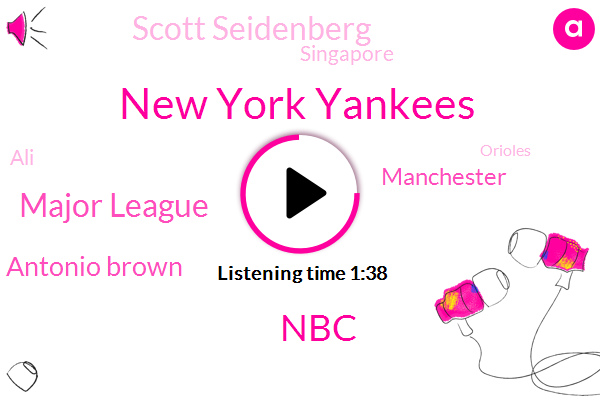 New York Yankees,NBC,Bloomberg,Major League,Antonio Brown,Manchester,Scott Seidenberg,Singapore,ALI,Orioles,Baltimore,Doug,New York Mets,NFL,Danilo,Chow Consolo,Gunners,Stamford Bridge,Chelsea,Soccer