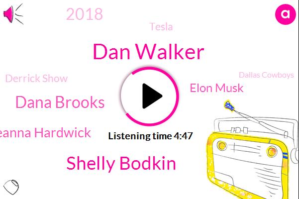 Dan Walker,Shelly Bodkin,Dana Brooks,Deanna Hardwick,Elon Musk,2018,Tesla,Derrick Show,Dallas Cowboys,Dak Prescott,Delaware,Houston,Charles,Texas,George Floyd,CPS,Harry,2020,United States,Two Hour