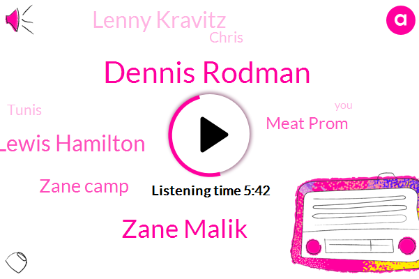 Dennis Rodman,Zane Malik,Lewis Hamilton,Zane Camp,Meat Prom,Lenny Kravitz,Chris,Tunis,Ross Bohlin,Us Riana,Travis Barker,TA,Kohl,Haley Baldwin,Holler,ZAN,VP,Hadid,Justin Bieber
