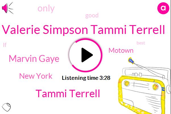Valerie Simpson Tammi Terrell,Tammi Terrell,Marvin Gaye,New York,Motown