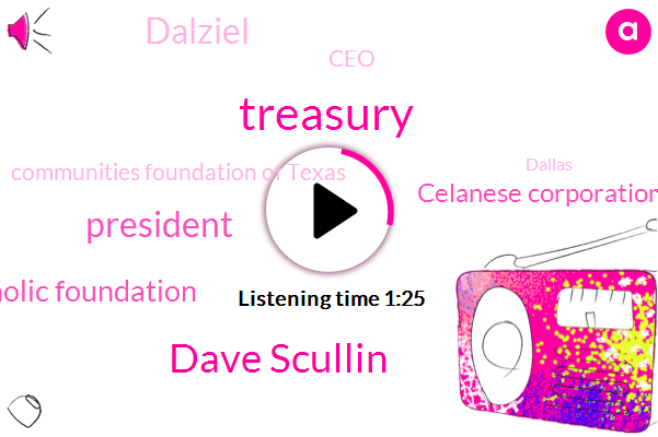 Treasury,Dave Scullin,President Trump,Lyda Hill Foundation Catholic Foundation,Celanese Corporation,Dalziel,CEO,Communities Foundation Of Texas,Dallas,David Johnson,Krld