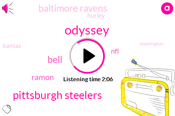 Odyssey,Pittsburgh Steelers,Bell,Ramon,NFL,Baltimore Ravens,Hurley,Kansas,Washington,Forty Four Yards,Forty Two Yards