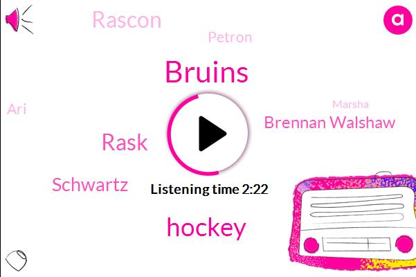 Bruins,Hockey,Rask,Schwartz,Brennan Walshaw,Rascon,Petron,ARI,Marsha,Ten Seconds