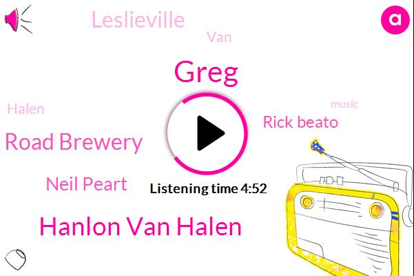 Hanlon Van Halen,Greg,Radical Road Brewery,Neil Peart,Rick Beato,Leslieville