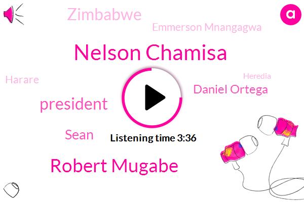 Nelson Chamisa,Robert Mugabe,President Trump,Sean,Daniel Ortega,Zimbabwe,Emmerson Mnangagwa,Harare,Heredia,Zanu,Ms Managua,Latin America,BOB,Nicaragua,Artega,Maseko,Seventy Percent,Eight Months