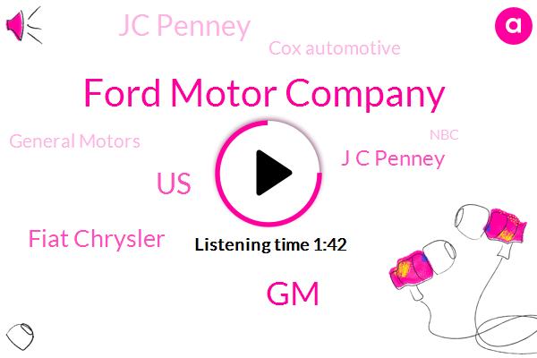 Ford Motor Company,GM,United States,Fiat Chrysler,J C Penney,Jc Penney,Cox Automotive,General Motors,NBC,North America,Lisa Z,Honda,Toyota,KIA,Nissan,Kohl