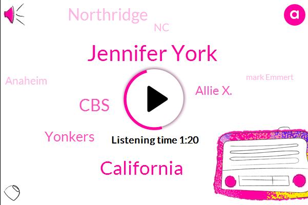 Jennifer York,California,CBS,Yonkers,Allie X.,Northridge,NC,Anaheim,Mark Emmert,Inland Empire,Monica,Doris,President Trump