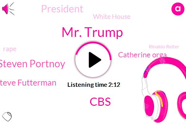 Mr. Trump,CBS,Steven Portnoy,Steve Futterman,Catherine Orga,White House,President Trump,Rape,Rinaldo Reiter,Soccer,Ncis,Las Vegas,Cristiano Renaldo,Mexico,San Diego,San Francisco,Knights,Nevada,Congress