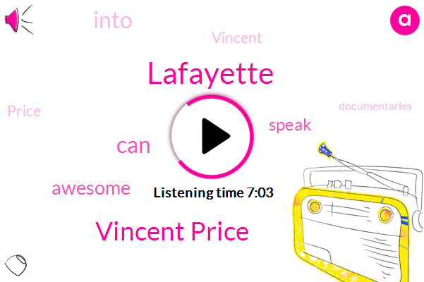 Lafayette,Vincent Price