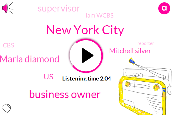 New York City,Business Owner,Marla Diamond,United States,Mitchell Silver,Supervisor,Lam Wcbs,CBS,Reporter,Commissioner