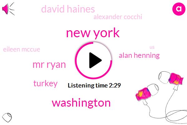 New York,Washington,Mr Ryan,Turkey,Alan Henning,David Haines,Alexander Cocchi,Eileen Mccue,Paul Ryan,Jane O'brien,Senate,Davis,United States,London,Gordon Carrera