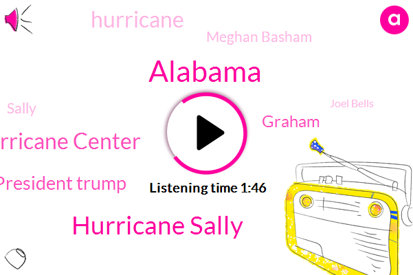 Alabama,Hurricane Sally,National Hurricane Center,President Trump,Graham,Hurricane,Meghan Basham,Sally,Joel Bells,Covington,Washington,Gulf,Mary Reicher,Founder,Kent,Director,KEN,Florida,Korn