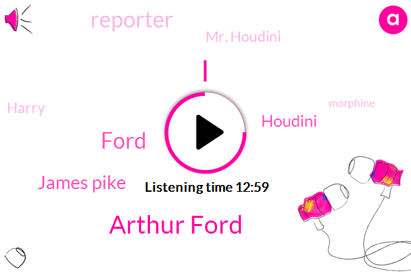 Arthur Ford,Ford,James Pike,Reporter,Mr. Houdini,Harry,Morphine,Fraud,Rosa Bell,I. Thomas Rosetto,Houdini,Fletcher,Bess Houdini,Walter Winchell,New York,Roosevelt,Canada,Mrs Houdini