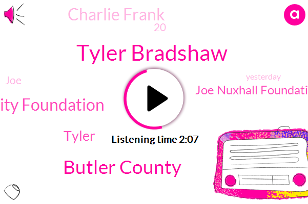 Tyler Bradshaw,Butler County,Reds Community Foundation,Tyler,Joe Nuxhall Foundation,Charlie Frank,20,JOE,Yesterday,11,Mets,Joe Nuxhall,This Afternoon,Reds,Reds Community Fund,Joe Knox,Miracle League Field,35,12,RED