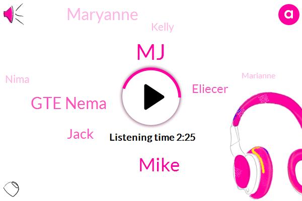 MJ,Mike,Gte Nema,Jack,Eliecer,Maryanne,Kelly,Nima,Marianne,Boston,Vegas,Lizzy,Rezzo