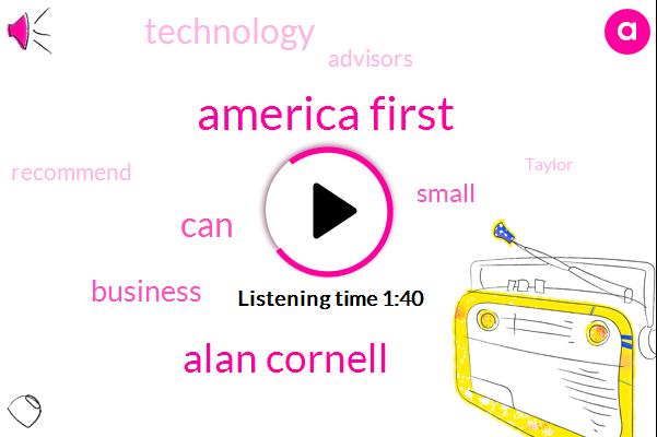 America First,Alan Cornell