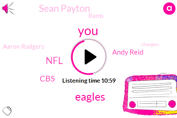 Eagles,NFL,CBS,Andy Reid,Sean Payton,Rams,Aaron Rodgers,Chargers,Patrick Mahomes,Nick Foles,New Orleans,Football,Steve Fezzet,Sean Mcveigh Jared Goff Todd Gurley,Andrew Luck,Sirius,Colts,Green Bay