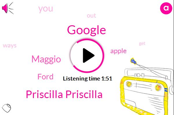 Google,Priscilla Priscilla,Maggio,Ford,Apple