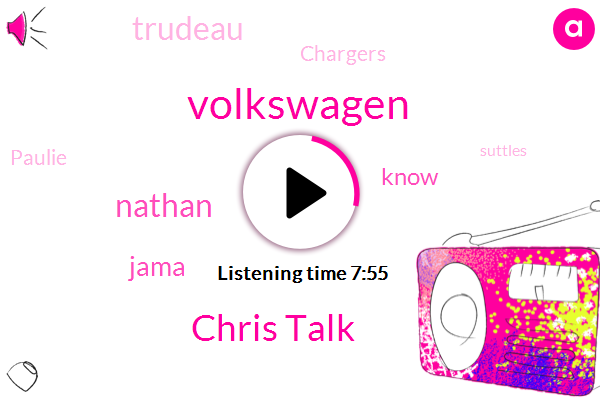 Volkswagen,Chris Talk,Nathan,Jama,Trudeau,Chargers,Paulie,Suttles,Donald Trump