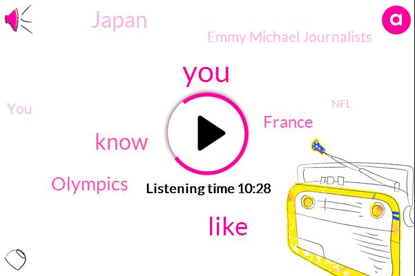 Olympics,France,Japan,Emmy Michael Journalists,NFL,America,Su- Nami,Rivera,Jordan,David,SAM,Professional League