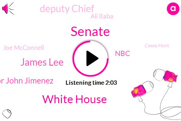 Senate,White House,James Lee,Deputy Assistant Director John Jimenez,NBC,Deputy Chief,Ali Baba,Joe Mcconnell,Casey Hunt,Amazon,IRS,Twitter,FBI,Fraud,San Francisco