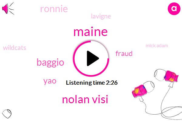 Maine,Nolan Visi,Baggio,YAO,Fraud,Ronnie,Lavigne,Wildcats,Mick Adam,Keith Mule Bauer,Jeremy,Eric Adams,Chancellor