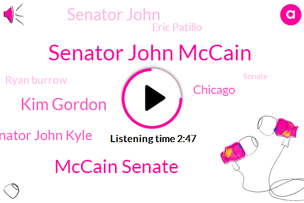 Senator John Mccain,WGN,Mccain Senate,Kim Gordon,Senator John Kyle,Chicago,Senator John,Eric Patillo,Ryan Burrow,Senate,O'hare,Medinah Temple,Arizona,Iraq,ATF,Levi,Sacramento,Shriners Temple,Michigan