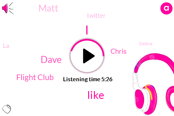 Dave,Flight Club,Chris,Matt,Twitter,LA,Delina