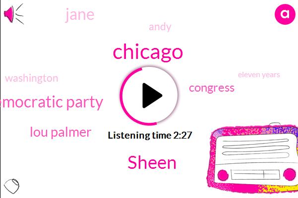 Sheen,Chicago,Democratic Party,Lou Palmer,Congress,Jane,Andy,Washington,Eleven Years