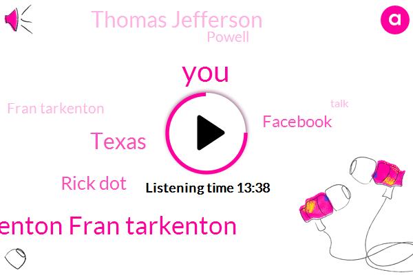 Fran Tarkenton Fran Tarkenton,Texas,Rick Dot,Facebook,Thomas Jefferson,Powell,Fran Tarkenton,NFL,Roger Staubach,Football,Dallas,DAN,One Day