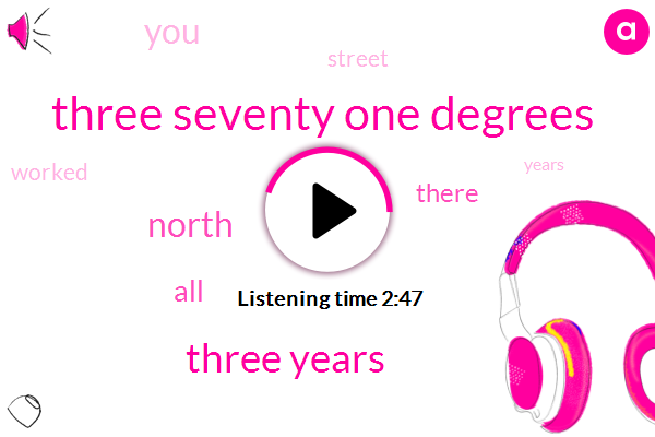 Three Seventy One Degrees,Three Years