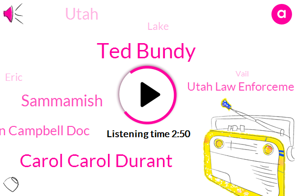 Ted Bundy,Carol Carol Durant,Sammamish,Karen Campbell Doc,Utah Law Enforcement,Utah,Lake,Eric,Vail,Boston,Aspen,Julie Cunningham,Colorado,Molly,Michigan,Poke,Murder,Instructor,Seattle