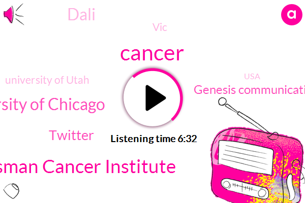 Cancer,Huntsman Cancer Institute,University Of Chicago,Twitter,Genesis Communications,Dali,VIC,University Of Utah,USA,World Health Organization,Mayo Clinic,KEN,Joshua Schiffman,Vincent Lynch,Assistant Professor,Professor,Jean,Investigator
