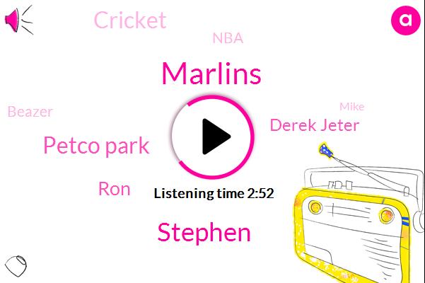 Marlins,Petco Park,Stephen,RON,Derek Jeter,Cricket,NBA,Beazer,Mike,David,National League,One Hundred Percent,Twenty Eight Minute