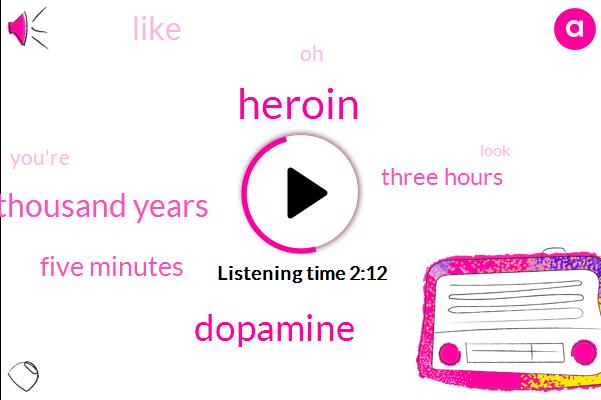 Heroin,Dopamine,Ten Thousand Years,Five Minutes,Three Hours