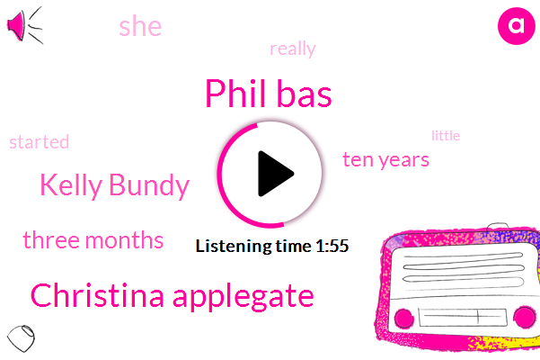 Phil Bas,Christina Applegate,Kelly Bundy,Three Months,Ten Years