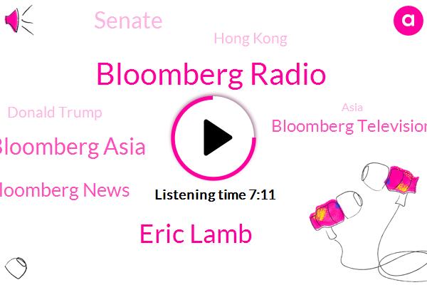 Bloomberg,Bloomberg Radio,Eric Lamb,Lulu Chen Bloomberg Asia,Bloomberg News,Bloomberg Television,Senate,Hong Kong,Donald Trump,Asia,Taiwan,Ali Baba,Ed Baxter,Kurt Cryptocurrencies,San Francisco,Hang Seng Tech,U. S,Lulu Chan