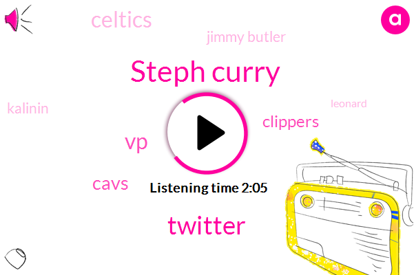 Steph Curry,Twitter,VP,Cavs,Clippers,Celtics,Jimmy Butler,Kalinin,Leonard,Russell Westbrook,Lakers,Thompson,MVP,Paul George,James Harden,NBA,Thirty Foot,Two Years