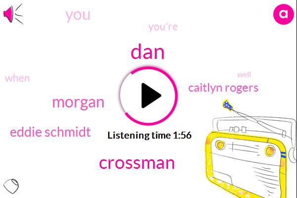 DAN,Crossman,Morgan,Eddie Schmidt,Caitlyn Rogers