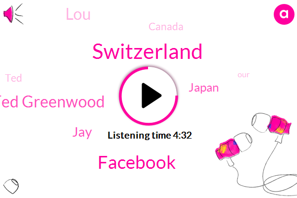 Switzerland,Facebook,Ted Greenwood,JAY,Japan,LOU,Canada,TED