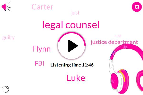 Legal Counsel,Luke,Flynn,FBI,Justice Department,Carter