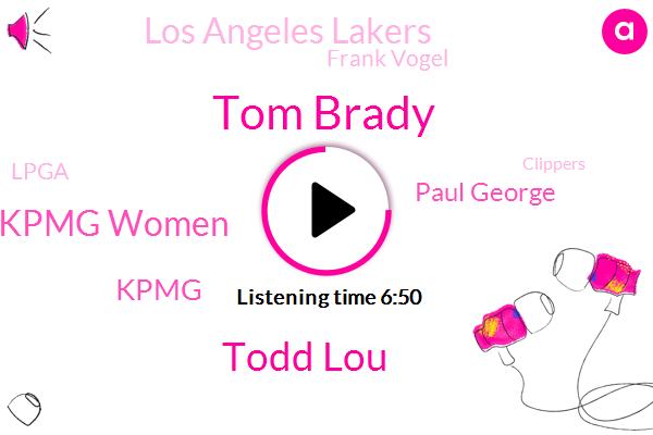 Tom Brady,Todd Lou,Kpmg Women,Kpmg,Paul George,Los Angeles Lakers,Frank Vogel,Lpga,Clippers,Max Kellerman,Packers,Lebron James,Tyler,Leonard,PGA,Peyton Manning,Jeanie Buss,Aaron Rodgers,Tampa Bay