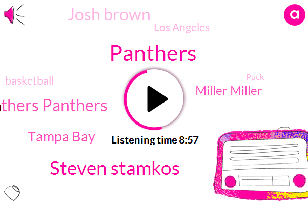 Panthers,Steven Stamkos,Panthers Panthers,Tampa Bay,Miller Miller,Josh Brown,Los Angeles,Basketball,Puck,Jerry West,Hoover Dodo Center,Miller Shane,Wilt Chamberlain La,Jack Riley Sheahan,Florida,Popsy,Namco,Johnny